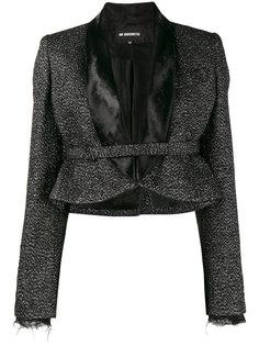 укороченный пиджак с блестками Ann Demeulemeester