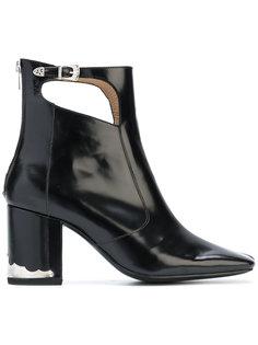 ботинки с вырезными деталями Toga Pulla