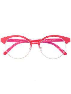 очки в круглой оправе Marni Eyewear