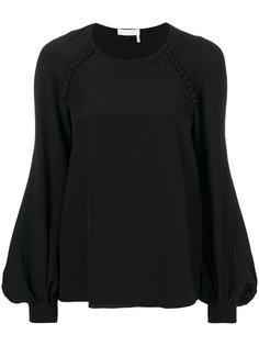 блузка с рукавами-колоколами Chloé