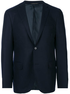 пиджак с застежкой на одну пуговицу Corneliani