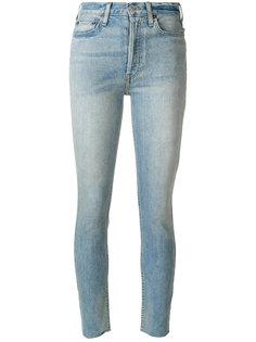 укороченные джинсы с завышенной талией Re/Done