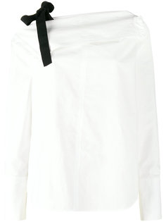 футболка с длинными рукавами и открытыми плечами  Proenza Schouler
