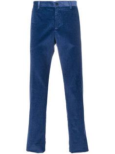 ребристые зауженные брюки Etro