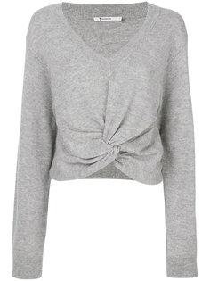 свитер с перекрутом спереди T By Alexander Wang