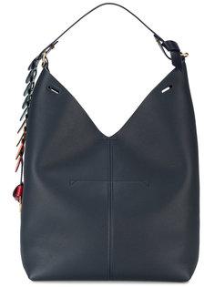 сумка на плечо с радужной подвеской Anya Hindmarch