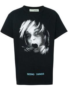 футболка Seeing Things Off-White