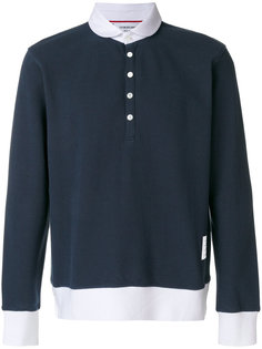 футболка на пуговицах  Thom Browne