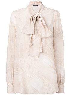 блузка с завязками на бант Alexander McQueen