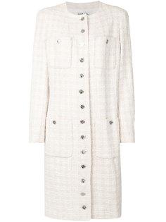 длинное пальто  Chanel Vintage