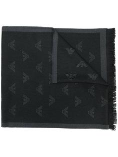 шарф с логотипом Emporio Armani