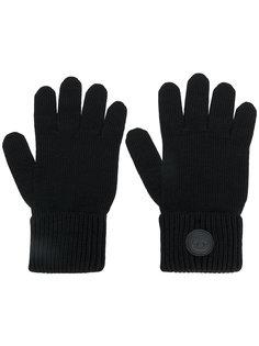 перчатки в рубчик  Dsquared2