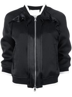куртка-бомбер с оборками 3.1 Phillip Lim