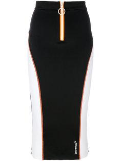 юбка-карандаш в спортивном стиле Off-White
