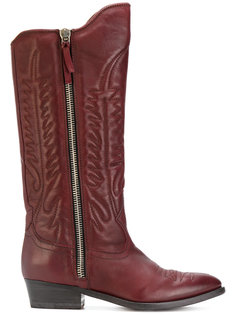 pointed-toe cowboy boots Golden Goose Deluxe Brand