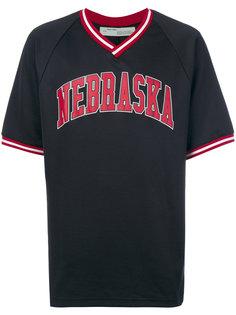 футболка Nebraska Off-White