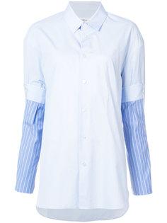 рубашка с отделкой на рукавах Maison Margiela