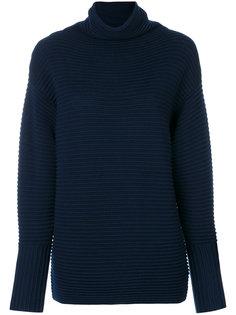 свитер в рубчик с высоким воротником  Victoria Beckham