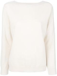 свитер с вырезом-лодочкой Fabiana Filippi