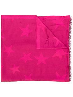 шарф со звездным принтом  Stella McCartney