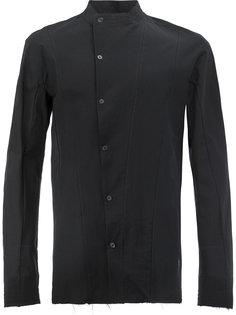 узкая рубашка со смещенной застежкой Masnada