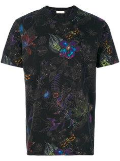 футболка с цветочным принтом Etro
