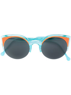 солнцезащитные очки в оправе кошачий глаз Retrosuperfuture