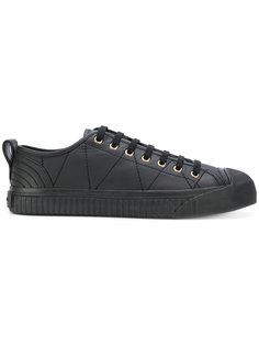 кроссовки на шнуровке Burberry