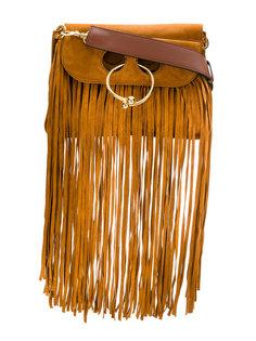 сумка через плечо с бахромой J.W.Anderson