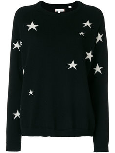 star knit cashmere jumper Chinti And Parker
