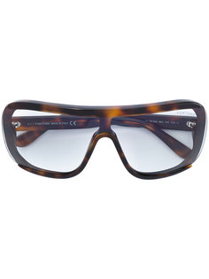 очки в объемной оправе Tom Ford Eyewear