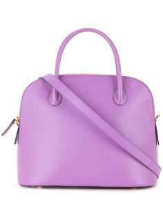 сумка с контрастной подкладкой Céline Vintage