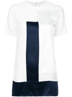 блузка со вставкой  Victoria Victoria Beckham