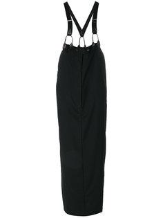 длинная юбка с подтяжками  Jean Paul Gaultier Vintage
