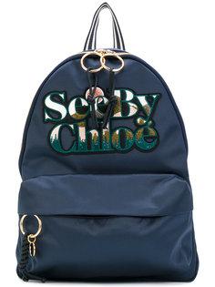 рюкзак с вышивкой логотипа See By Chloé
