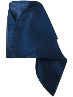 long cape Pleats Please By Issey Miyake