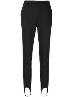 узкие брюки Helmut Lang