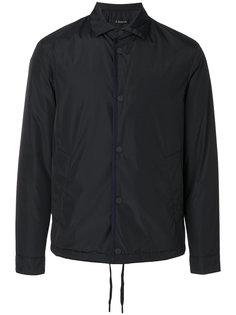 нейлоновая куртка-рубашка Z Zegna