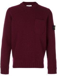 свитер с карманом спереди Stone Island