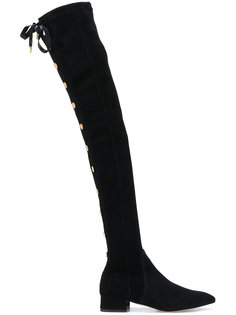 Officier high-thigh boots Olgana