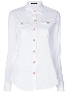 классическая приталенная рубашка Balmain