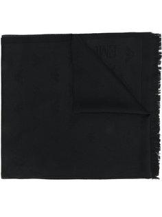 монограммный шарф Emporio Armani