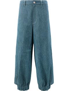 брюки свободного кроя Moohong