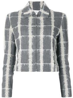 пиджак в клетку  Christian Dior Vintage