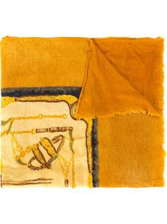 шарф с рисунком Avant Toi