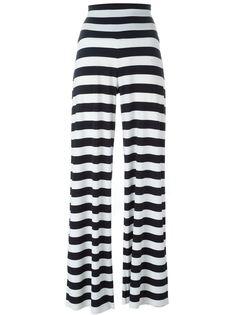 брюки с завышенной талией Norma Kamali