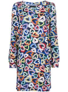 hearts print dress  Love Moschino