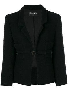 пиджак с поясом  Chanel Vintage