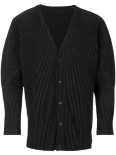 pleated cardigan  Homme Plissé Issey Miyake