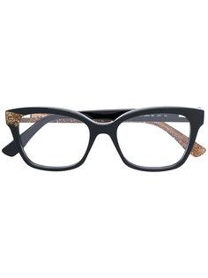 очки в прямоугольной оправе Jimmy Choo Eyewear